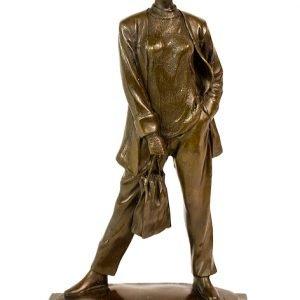 Statueta bronz semnata Rubin