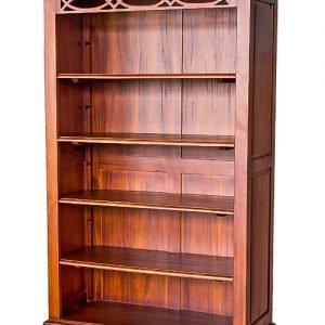 Biblioteca cu doua sertare
