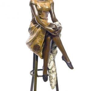 Statueta bronz semnata Chiparus