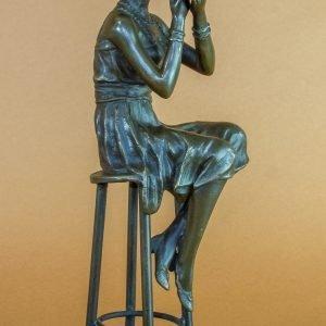 Statueta bronz dc13