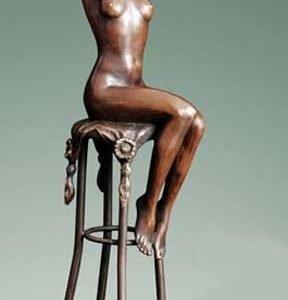 Statueta Nud semnnat Chiparus 301