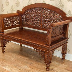 Canapea din lemn masiv de teak