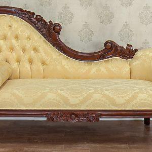 Canapea-Sofa Louis XV-gelb